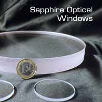 Sapphire optical windows