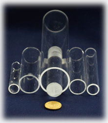 Sapphire Tubes, Rods, Spheres and Special Shapes